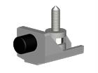 Комплект фурнитуры c доводчиком Atena АТ20 1000 - фото 6300