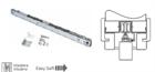 Доводчик OPEN SPACE (металл) для деревянных дверей 60 кг./ 80/ 100 кг. - фото 6504